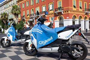 Cityscoot Nice French Riviera