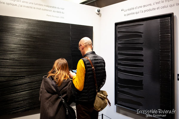 Expo Pierre Soulages à Nice