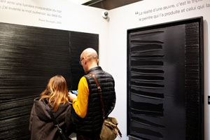 Soulages exhibition in Nice