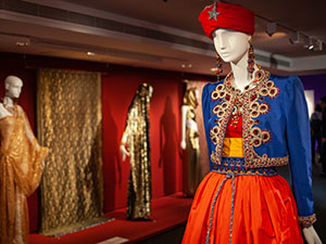 Yves Saint Laurent's Asian Dream Exhibition in Nice