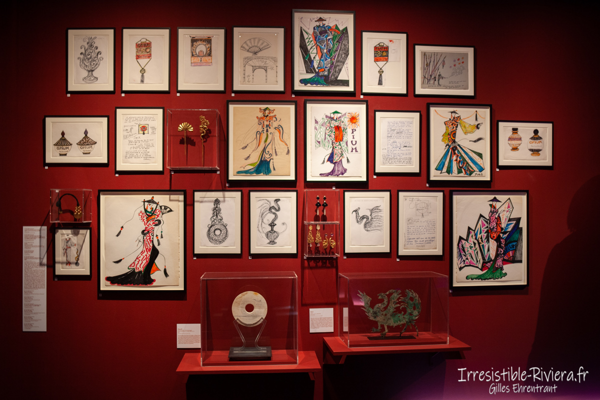 Exposition Yves Saint Laurent Nice 7