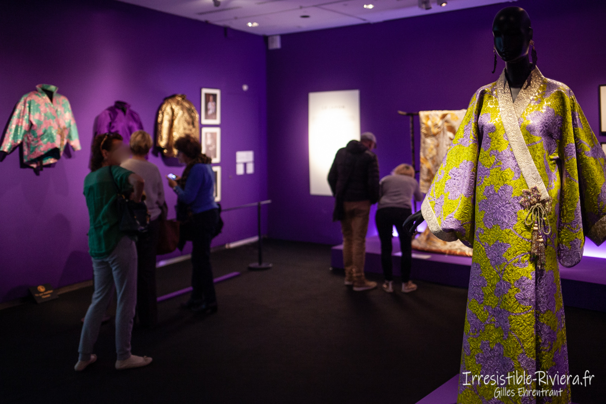 Exposition Yves Saint Laurent Nice 9