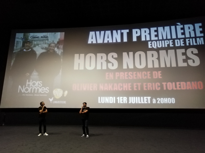 Avant premiere film Hors Normes at Nice